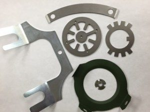 assortment of custom and prototype shims